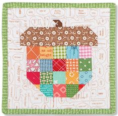 """Bee In My Bonnet: Introducing Four New PDF Patterns in both 6"""" and 12"""" Block Sizes!"""
