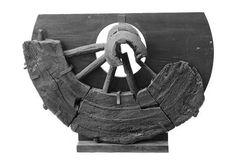 Landtransport i vikingetiden - Dette fragment af en fælgkrans er fundet ved Astrup Banke i Sønderjylland. Det er dateret til ældre vikingetid.