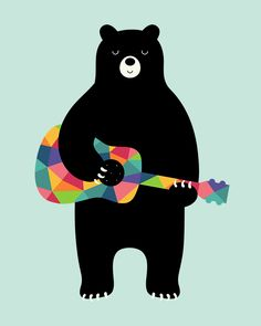 Andy Westface — Bear Happy Song