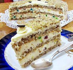 Šarena torta | Brze torte | Recept