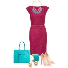 """""""Working in Pink"""" by quianashinae on Polyvore"""