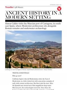 Ancient history in a modern setting   Traveller   The Independent