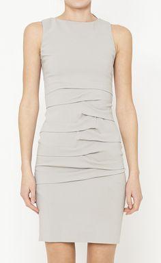 Nicole Miller Grey Dress