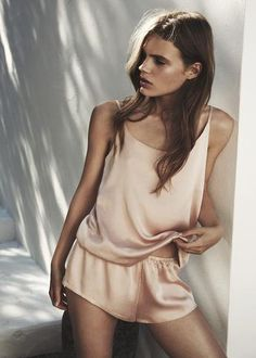 PALE BLUSH LUXURY SILK CAMI <br />(Pre-order now for delivery before Christmas) - Asceno