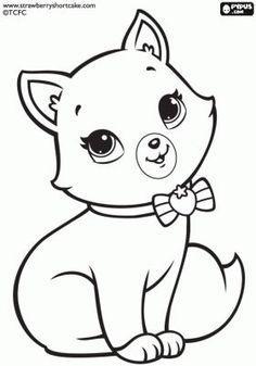 Strawberry Shortcake coloring pages printable games Ballerina Coloring Pages, Puppy Coloring Pages, Cat Coloring Page, Coloring Pages For Girls, Coloring For Kids, Colouring Pages, Coloring Sheets, Coloring Books, Art Drawings For Kids