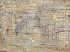 MAria Helena Viera Da Silva, Untitled, circa 1952-1953. Oil on canvas. 21-1/2 x 28-3/4 inches
