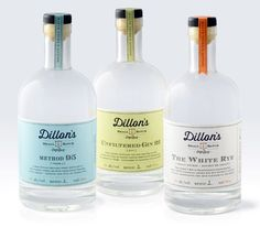 Message in a Bottle: Craft Spirits and StockBottles - The Dieline -