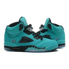 separation shoes b38ee 3942f ... Buy Nike Air Jordan 5 Womens Light Blue Tiffany Black Diamond Shoes  from Reliable Nike Air ...