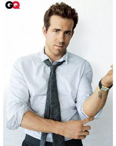 """The photo """"Ryan Reynolds GQ Magazine October 2010 Pictorial Photo - United States"""" has been viewed 99 times. Ryan Reynolds Buried, Beautiful Men, Beautiful People, Hello Beautiful, Pretty People, What To Wear Today, Gq Magazine, Raining Men, Good Looking Men"""