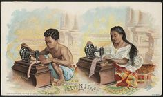 Title: Manila (front) Copyrightdate: 1892