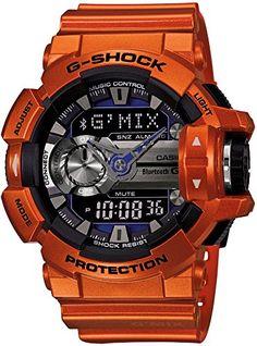 [カシオ]CASIO 腕時計 G-SHOCK Bluetooth搭載 G'MIX  GBA-400-4BJF メンズ G-SHOCK(ジーショック) http://www.amazon.co.jp/dp/B00RB15NTO/ref=cm_sw_r_pi_dp_O2dKvb10E00AA