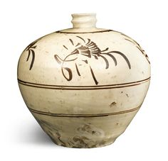 A 'CIZHOU' PAINTED MEIPING<br>JIN/YUAN DYNASTY | Lot | Sotheby's