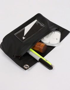 Waterproof Tarp Pouches are lightweight and come with a handy eyelet and water tight zipper closure