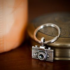 love a camera keychain