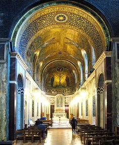 :Westminster Cathedral interior, London