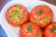 Tomates Recheados Com Quinua | Vídeos e Receitas de Sobremesas