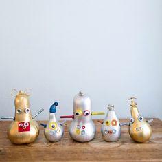 Halloween Pumpkin Robots - Fun Family Crafts