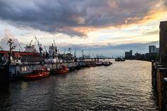 Hamburg, Harbor, Hafen, Waterkant