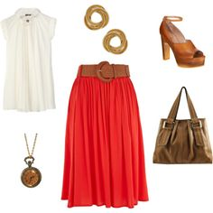 My idea of a good teacher outfit for late in the year!