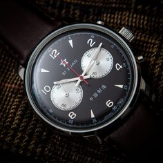 Seagull 1963 Chinese Airforce watch