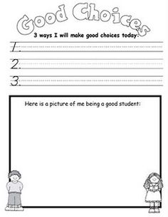 13 best behavior reflections images on pinterest class management good choices re pinned by elementary counseling elementary schools counseling activities ibookread ePUb