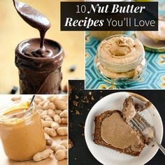 10 Nut Butter Recipes You'll Love