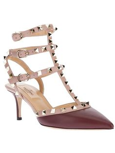 Shop Valentino Garavani 'Rockstud' pumps in Biondini Paris from the world's best independent boutiques at farfetch.com. Over 1000 designers from 300 boutiques in one website.