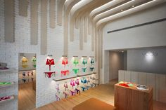 Retail Design Blog — Voda Swim Store by MW Design, Taichung - Taiwan