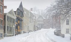 Thomas Street, Providence, RI - on college hill.