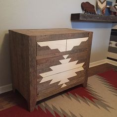 #tbt Navajo Dresser/Changing Table   one of our favorite furniture builds to…