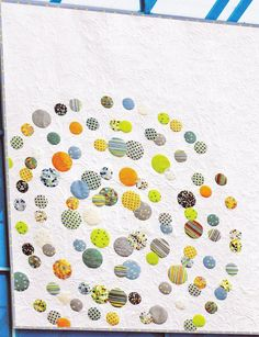 "Quilt Sewing Pattern:Clarity by Zen Chic. Clarity – Quilt Pattern by Zen Chic. Finished size: 81"" x 81"" All Rights Reserved, Copyright © 2008. Template byBlessed by Designs."