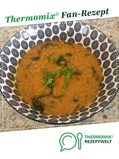 Rote Linsen Dal mit Gemüse - vegan von Connielsine. Ein Thermomix ® Rezept aus der Kategorie Hauptgerichte mit Gemüse auf www.rezeptwelt.de, der Thermomix ® Community.