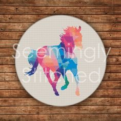 Counted Cross Stitch Pattern - Horse - Digital Download PDF **PAID**
