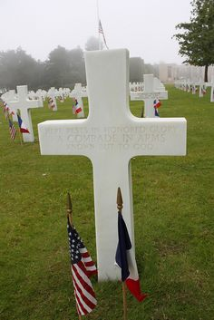 American Cemetery, Normandy Beaches, France
