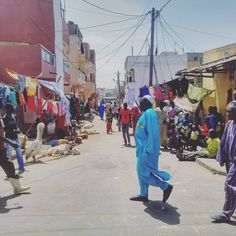 Street life, Saint-Louis, Senegal