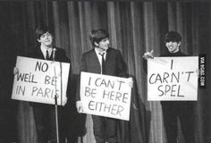 Funny pictures about The Beatles Were Hilarious. Oh, and cool pics about The Beatles Were Hilarious. Also, The Beatles Were Hilarious photos. Nowhere Boy, Paul Mccartney, John Lennon, Satire, Beatles Funny, All You Need Is Love, My Love, Richard Starkey, Pop Rock