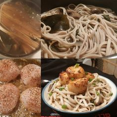 Udon noodles slowly cooked in a kumbu x herb x Mushroom broth pan seared outer banks scallops (lemon pepper x blackening). Test kitchen fuckery #truecooks #TrueCooksStreetTeam #lostcarchef #LostCarArmy #ChefsOfInstagram #chefsdoitbetter #chefsroll #cheflife #instachef #Chefstalk #cookwellcoalition #mirepoixgangsters #foodnetwork #foodandwine #foodstarz #foodstarz_official #theartofplating #gastroart #whatwedo #stackpaper #LifeOnTheLine #InTheWeeds #eats #munchies #tbie #encore by georgecolom