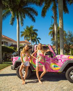 Lilly Pulitzer Jeep Print, All Nighter, Now available in dresses, tops, swim & more