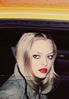 Amanda Seyfried photographed by Guy Aroch Suicide Blonde