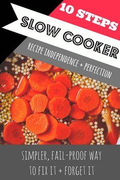{never} homemaker: 10 Steps for Slow Cooker Perfection