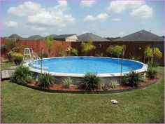 Above Ground Pool Landscape Borders - Best Home Design Ideas ...