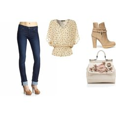 casual school day :), created by smepley on Polyvore