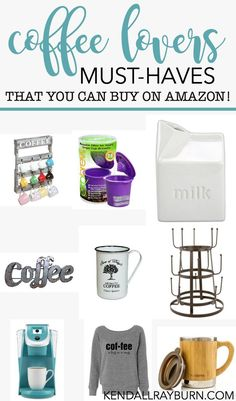 Coffee Lovers Must-Haves (from Amazon!) - Happy #NationalCoffeeDay! #ad