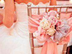 bride chair decor