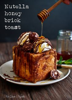 Nutella & Honey Shibuya Brick Toast