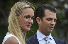 Vanessa Trump and Donald Trump, Jr. attend the 139th White House Easter Egg Roll at The White House on April 17, 2017 in Washington, DC.