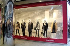 #stefflsale - Sale Windows at STEFFL Department Store Vienna - January 2015