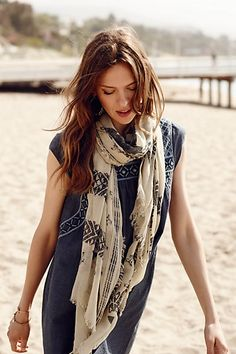 Altamira Scarf - Anthropologie