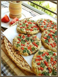 Τραγανήτες φούρνου με ελιές (νηστίσιμες)