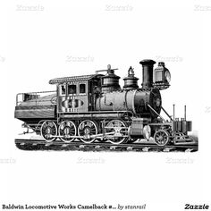 Baldwin Locomotive Works Camelback #415 Photo Sculpture Ornament : $21.25 - #stanrail -  Ornament : Turn your favorite photo into an attractive memory keepsake. Made from beautiful acrylic, your photo becomes a 3-dimensional mobile. Comes with a red ribbon for hanging. Final size is approximate and depends on cut-out size of image. @stanrails_store